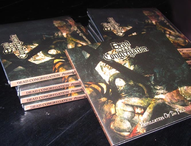 Image of DEAD CONGREGATION - Promulgation of the Fall CD (DIGIPACK)