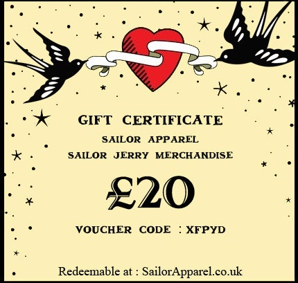 Image of Sailor Apparel Gift Certificate