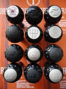 "Image of Trimsport Anodised Black LIMITED EDITION VW Golf Jetta Mk3 ""Golfball"" Dimpled Gearknob"