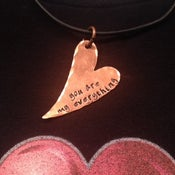 """Image of """"You Are My Everything"""" Heart Pendant"""