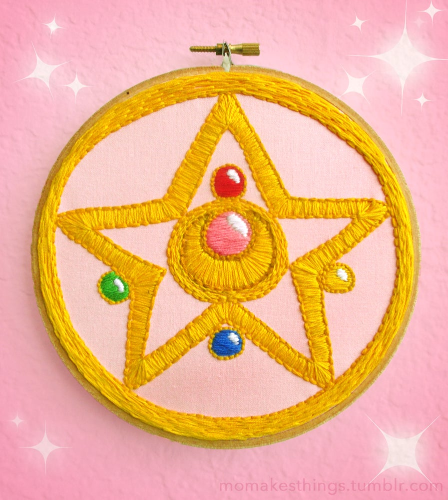 Image of Sailor Moon Hoop