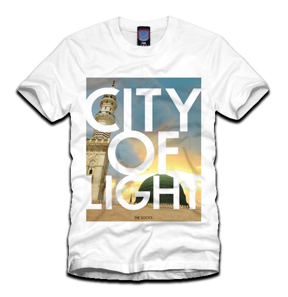 Image of 'City of Light' Tee