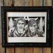 Image of David and Jack - Original