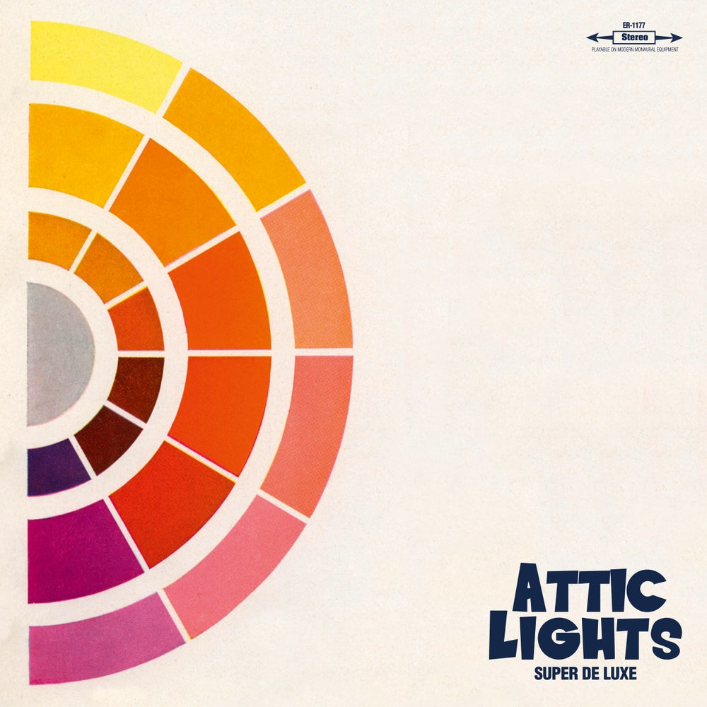 "Image of ATTIC LIGHTS - Super De Luxe (Digipak CD / Limited edition 12"" vinyl + free MP3 download)"