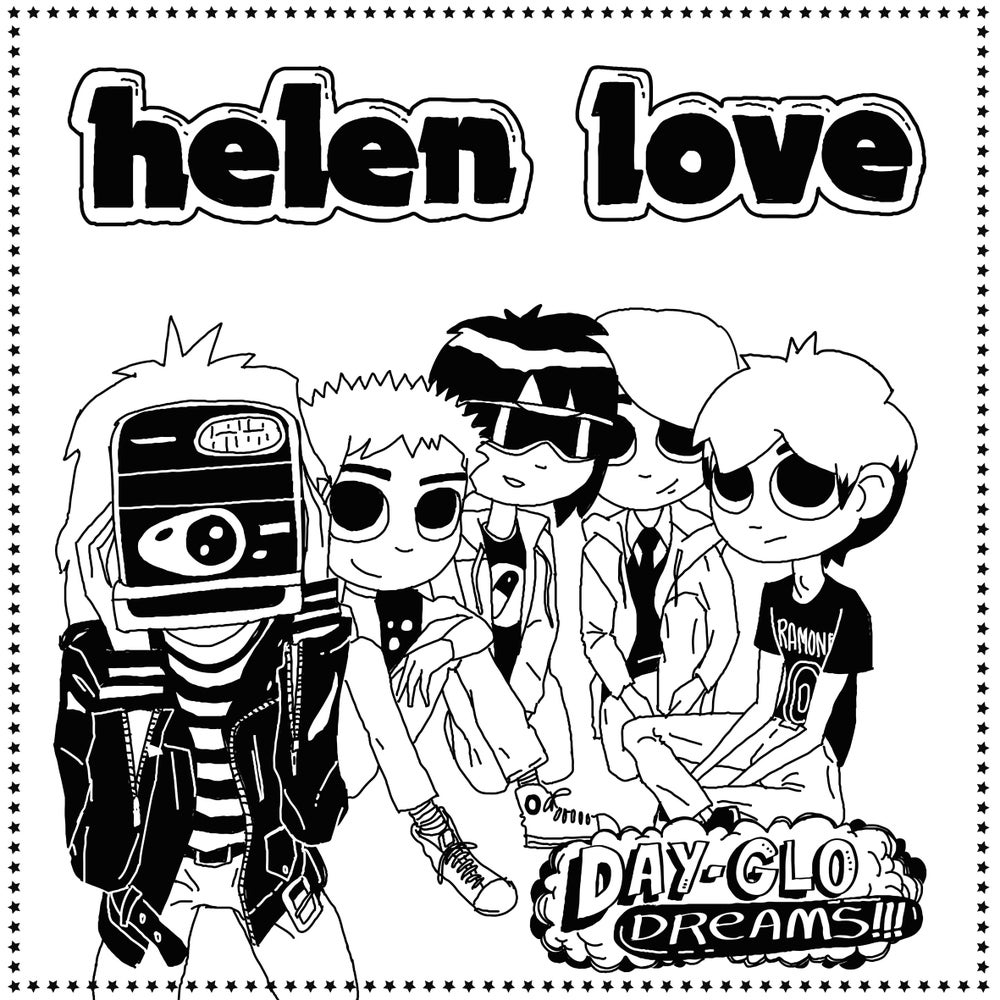 "Image of HELEN LOVE - Day-Glo Dreams (Digipak CD / Limited edition 12"" vinyl + free MP3 download)"