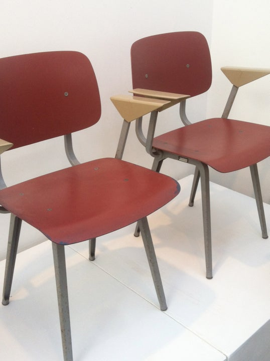 Image of Pair of Revolt Chairs by Friso Kramer