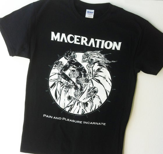 "Image of Maceration ""Pain and Pleasure Incarnate"" T-SHIRT"