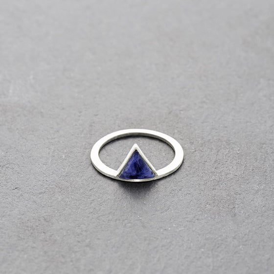 Image of Kandy Sodalite Ring Silver