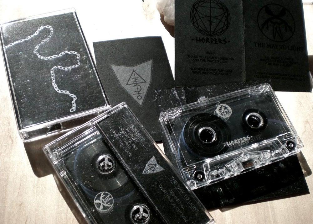 Image of HORDERS//TWTL split cassette