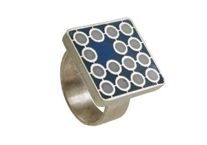 Image of Space Ring - blue - size 11