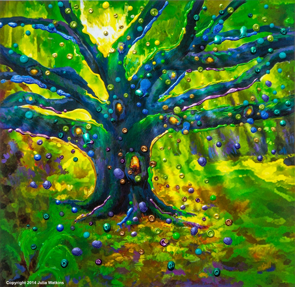 Image of The Fairy Tree - Magical Good Luck Print