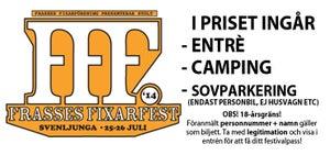 Image of Festivalbiljett (inkl sovparkering)