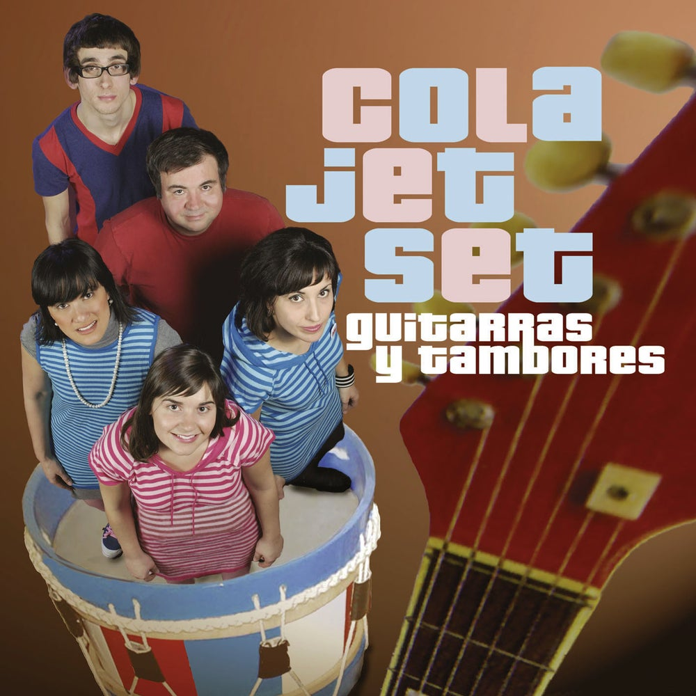 Image of COLA JET SET - Guitarras Y Tambores (Digipak CD)