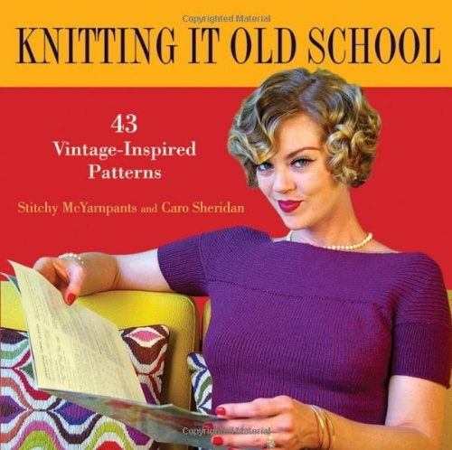 Image of Knitting It Old School - signed by Caro and Stitchy