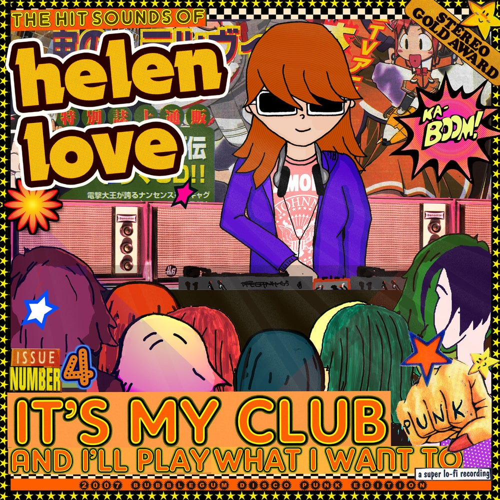 Image of HELEN LOVE - It's My Club And I'll Play What I Want To (Digipak CD)