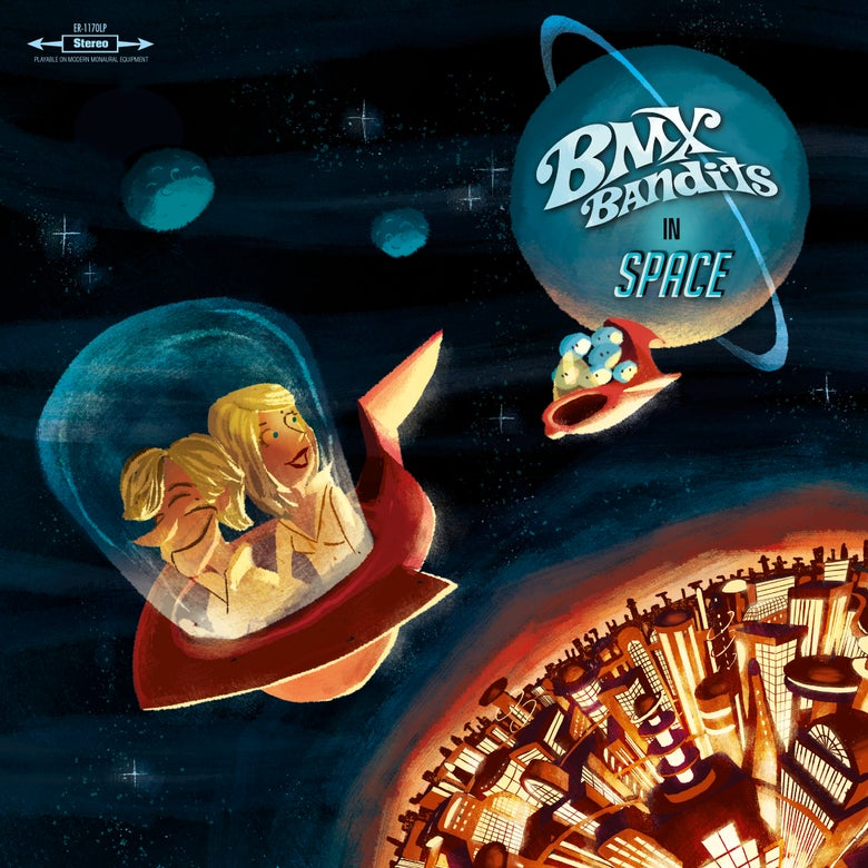 Image of BMX BANDITS - BMX Bandits In Space (Digipak CD)