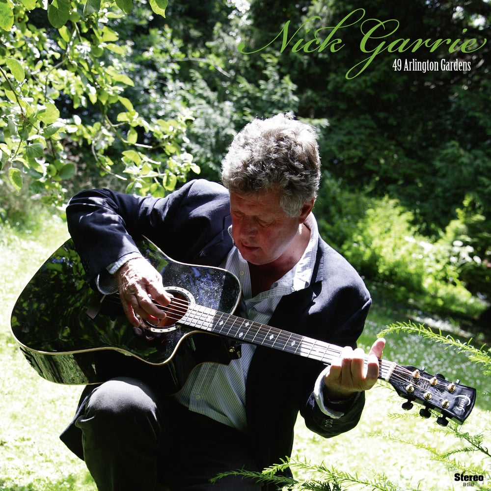 "Image of NICK GARRIE - 49 Arlington Gardens (Digipak CD/12"" vinyl + free MP3 download)"