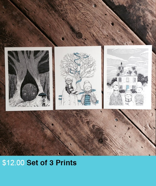 Image of Set of 3 Prints