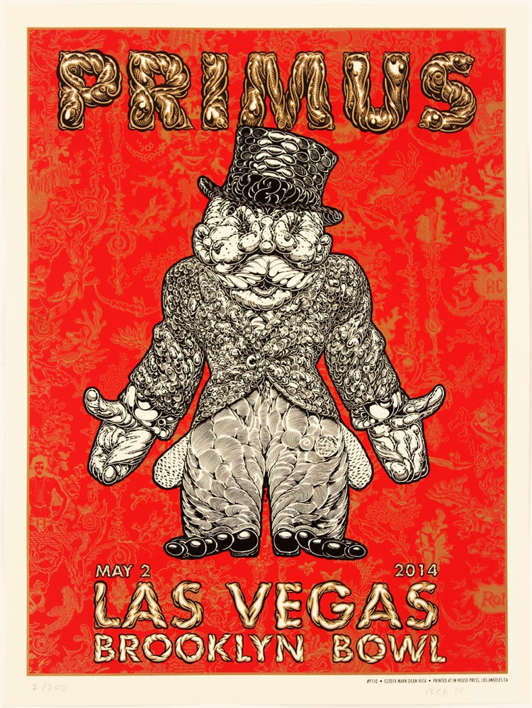 Image of Primus Tour Poster: Busted