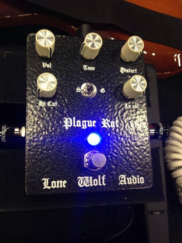 Image of Plague Rat distortion