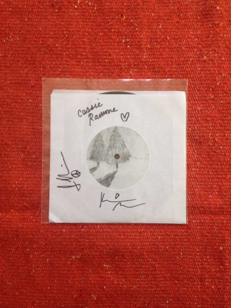 """Image of All Things b/w Caroline 7"""" Autographed"""