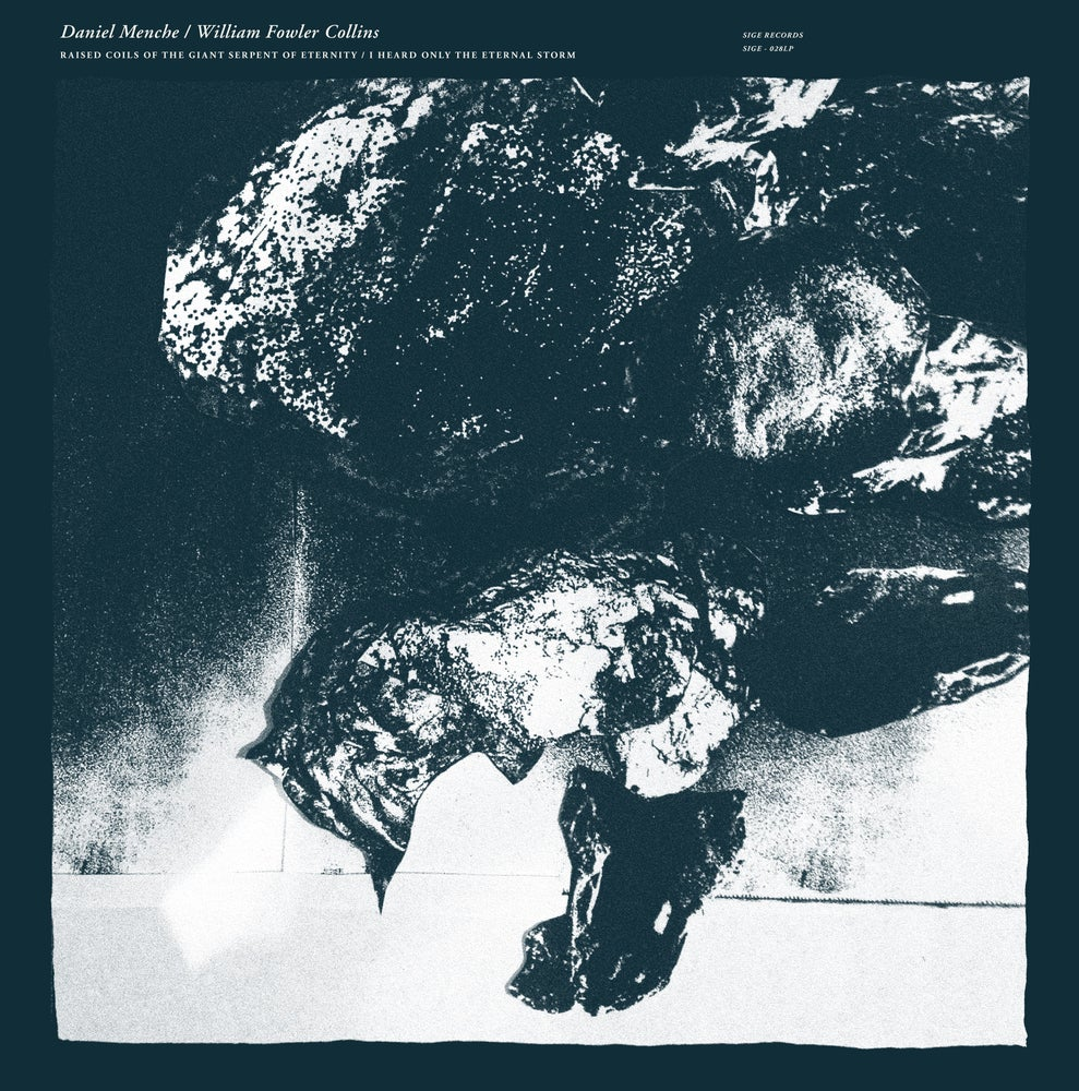 Image of Daniel Menche/William Fowler Collins split LP