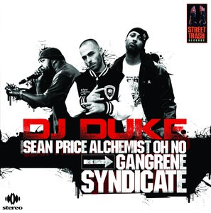 "Image of 12 Inch Color Record Vinyl ""Gangrene Syndicate"" by DJ Duke"
