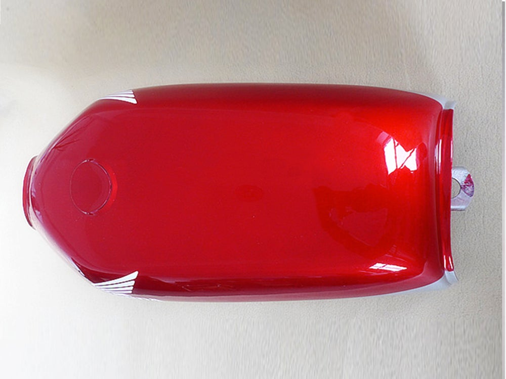 Image of Cafe Racer Honda CG125 Fuel Tank/ Gas Tank Honda 2 Tone
