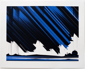 Image of 'Krypton' Screenprint, Edition of 50 FEW REMAINING