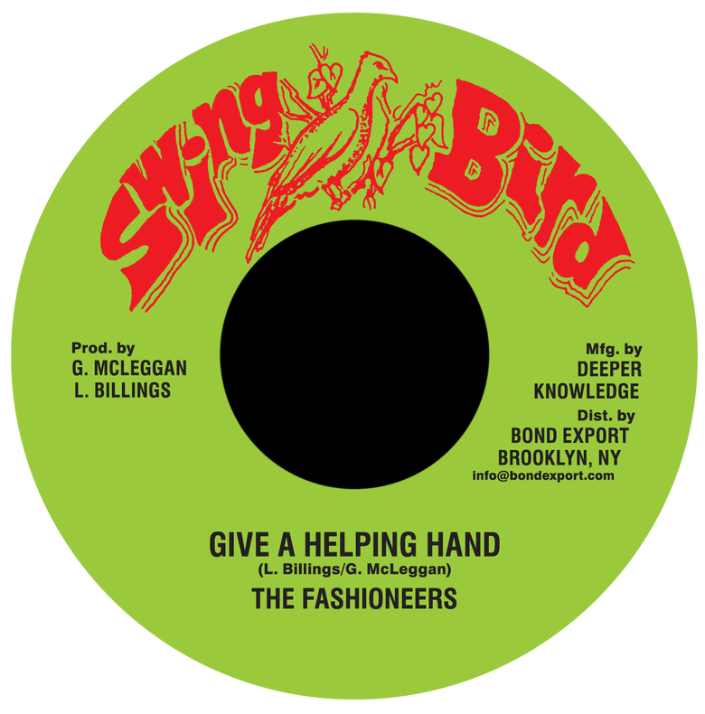 "Image of Fashioneers - Give a Helping Hand 7"" (Swing Bird)"