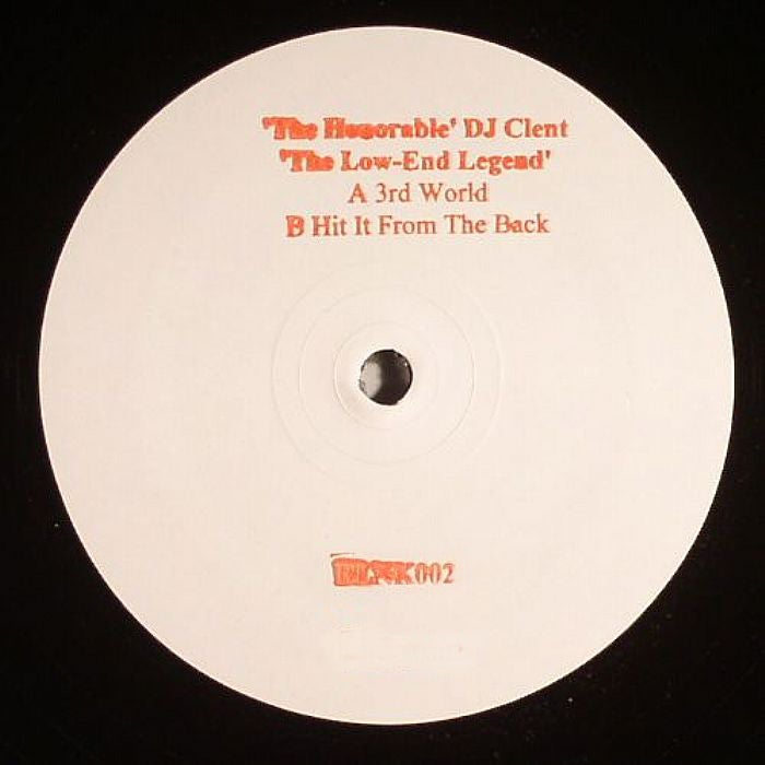 Image of BLNK002 DJ Clent