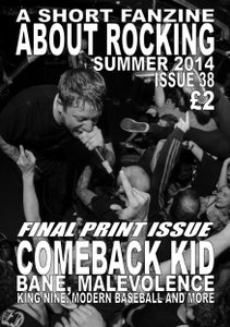 Image of ASFAR issue 38 - summer 2014