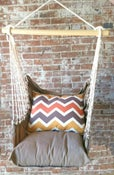 Image of Hammock Swing Chair - Chevron