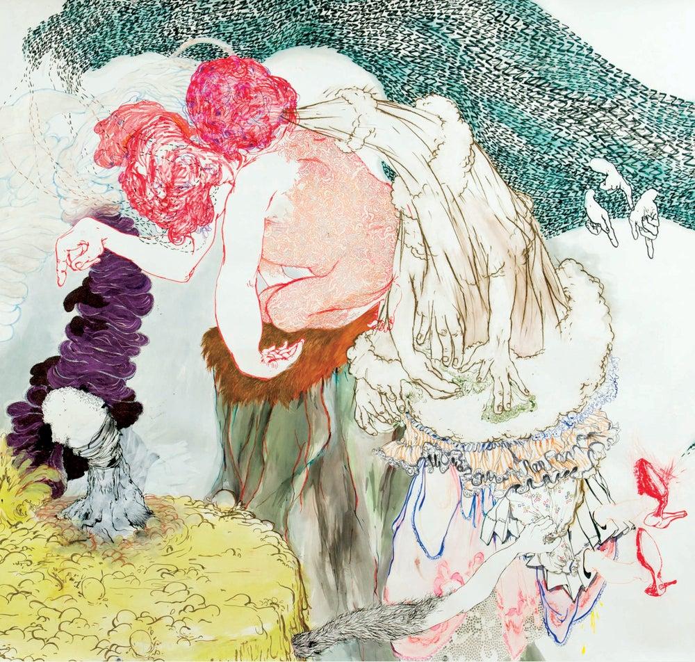 "Image of FUTURE ISLANDS - 'Feathers & Hallways' 7"""