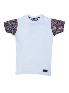 Image of Mulee - T-shirt (White) - White/Red/Green