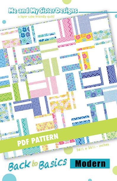 Image of Back to Basics Modern PDF pattern