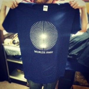 Image of Worlds Away Geometric T-Shirt