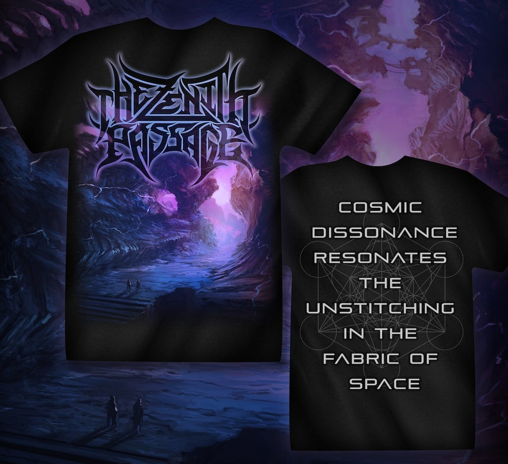 Image of TZP - Cosmic Dissonance Artwork Tee