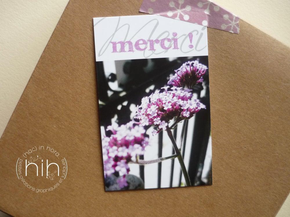 Image of petites cartes ✿flora✿ merci !