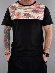 Image of Bigwig t-shirt hawai vintage orange and black