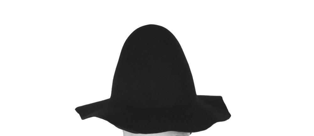 Image of Wool Brim Fedora Hat - 006