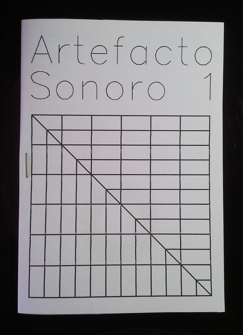 Image of Artefacto Sonoro #1 / DESCARGA DIGITAL