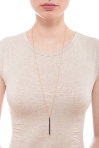 Image of STINGRAY STRIPE NECKLACE (LONG)