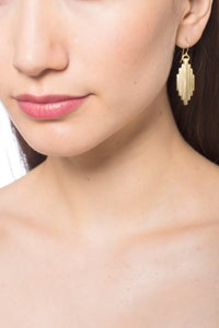 Image of EMERALD TAIL EARRINGS