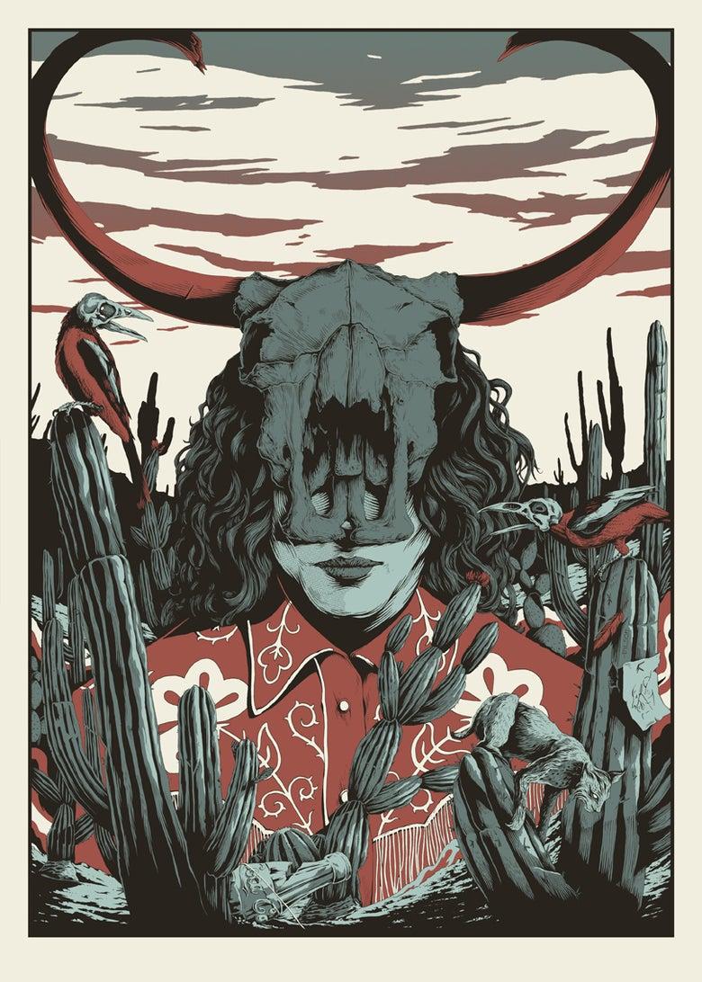 Image of JW Skull Head- Limited edition screen print