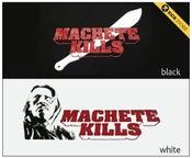 Image of MACHETE KILLS  // t-shirt (black/white)