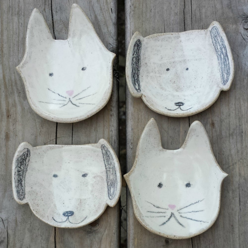 Image of Pup and Kitty Dishes