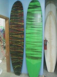 Image of Classic retro Longboard epoxy