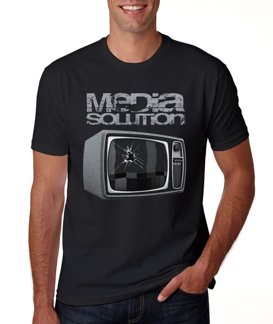 Image of Media Solution - Broke TV Black