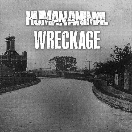 """Image of Human Animal / Wreckage - Split 7"""""""